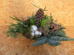 2a) Schaal met 5 hyacinten (doe-het-zelf)