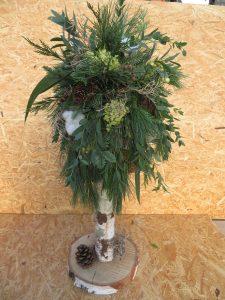 9a) Kerstboom op stam (doe-het-zelf)