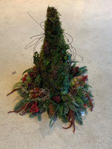 10a) Kerstboom met verlichting (doe-het-zelf)